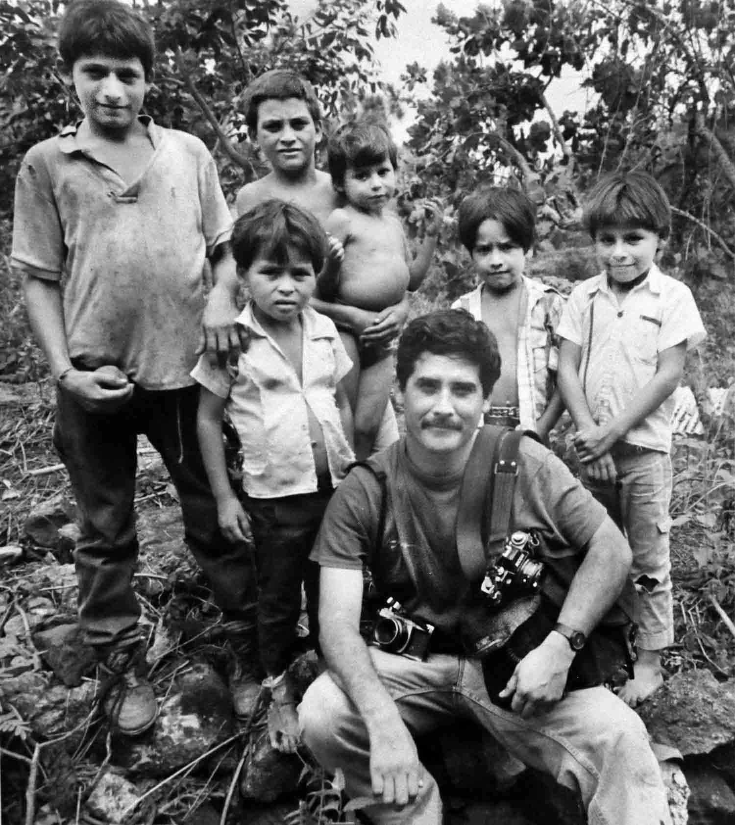 Retrato Luis Galdamez 8- Chalatenango 1992