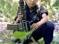 21-Pequeño combatiente del FMLN. Guazapa 1992