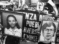 Familiares de victimas piden esclarecer la desaparición involuntaria de personas. San Salvador, Mayo 1988